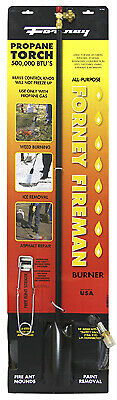 Forney Industries 1723 Weed Burner & Ice Melter Propane Torch, 500,000-BTU