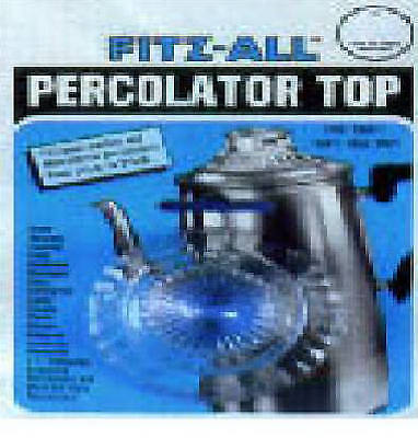 Fitz-All 246 Percolator Top Replacement, Glass, Large - Quantity 1