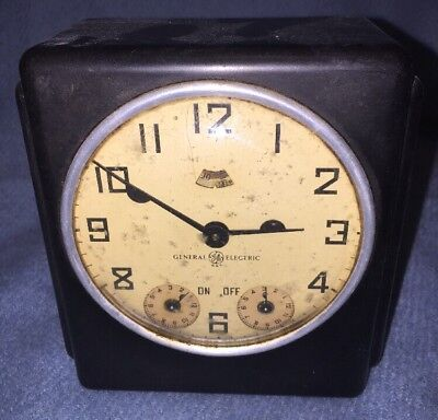 "Vintage General Electric ""Electric Range Timer"" Not Working, Display Only"