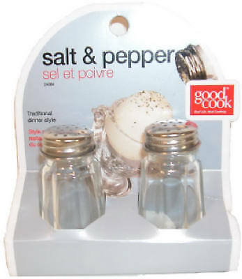 Bradshaw International 24084 Glass Salt & Pepper Shaker Set
