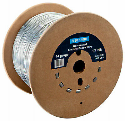 118220 14-Gauge Electric Fence Wire, 1320-Ft. - Quantity 1