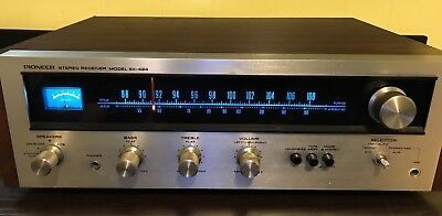VINTAGE PIONEER SX-424 STEREO RECEIVER —Powers On/No Sound—For Parts Or Repair