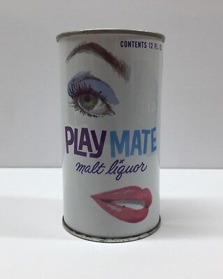 Vintage Playmate Malt Liquor Zip Tab Beer Can Sunshine Brewing Co. Reading PA