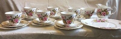 Antique Duchess china tea set (complete) in excellent condition