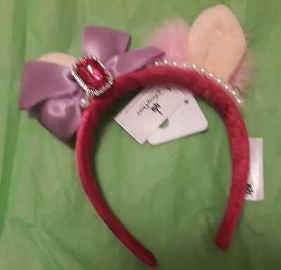 Disney Parks Muppets On Main Street Miss Piggy Ears Mickey Mouse New With Tags