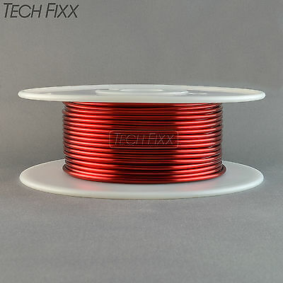 Magnet Wire 12 Gauge AWG Enameled Copper 95 Feet Coil Winding 1.92 Lbs Red