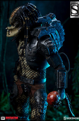 SIDESHOW EXCLUSIVE Predator Jungle Hunter  Maquette in Stock and Sealed, LOW #11