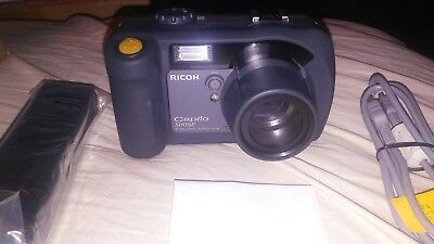 Ricoh Caplio 500SE-W Digital Camera Brand New in Box never used Battery not incl
