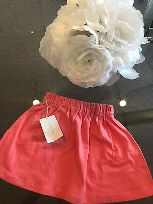 Go Gently Baby Girls Pink Skirt 100% Organic Cotton size 2T Orig.$55