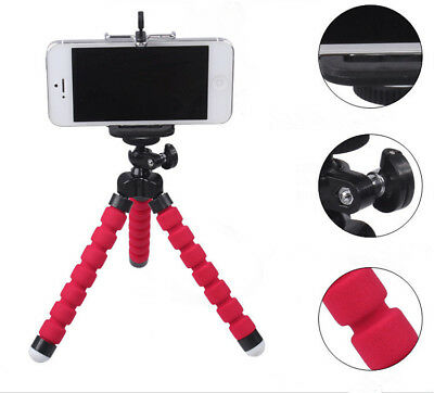 1PC Mobile Phone Stand Flexible Tripod For Mobile Iphone Camera Adjustable Angle