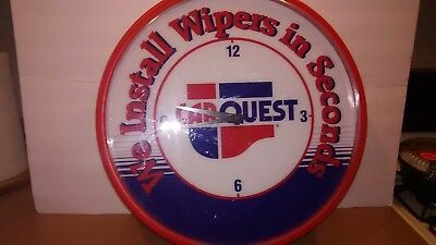 Carquest ADVERTISING  WALL CLOCK ADVERTISMENT Electric