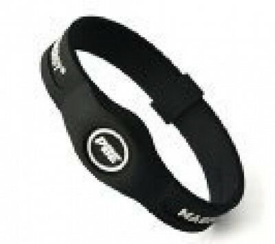 (Black/White, Small - 17.5cm) - *NEW* Power Balance ENERGY® Magnetic Therapy