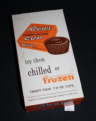 LMAS ~ Vintage Reese's Peanut Butter Cups Advertising Box Hershey, PA