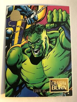 1994 Marvel Comics Universe Card #78 Hulk