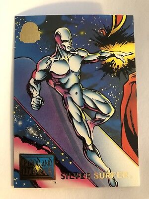 1994 Marvel Comics Universe Card #58 Silver Surfer