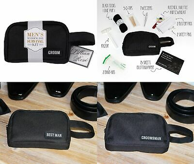 Wedding Survival Kit Emergency Groom Bag For Day Bridal Party Gifts Favour