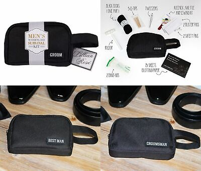 Wedding Survival Kit Mens Bridal Party Gifts Favour