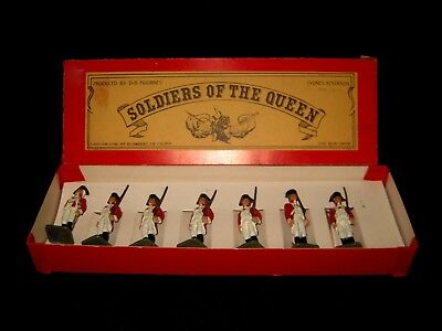 Lead Soldiers Of The Queen*db Figurines Sydney*original Box *
