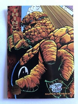 1994 Marvel Comics Universe Card #197 Thing