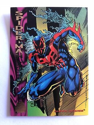 1994 Marvel Comics Universe Card #184 Spider-Man 2099