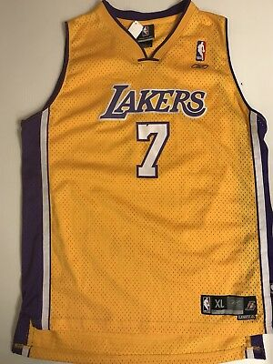 7bf2a84fdb26 ... promo code for lamar odom los angeles lakers jersey men xl sewn a50ac  4463f