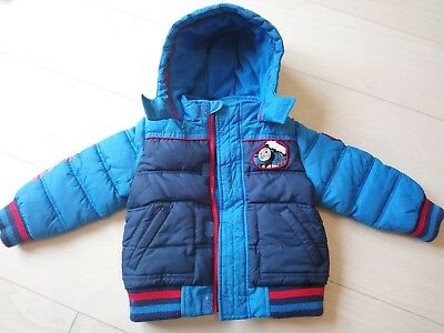 Thomas the tank engine padded Coat Boys 18-24 Months Marks And Spencer M&S