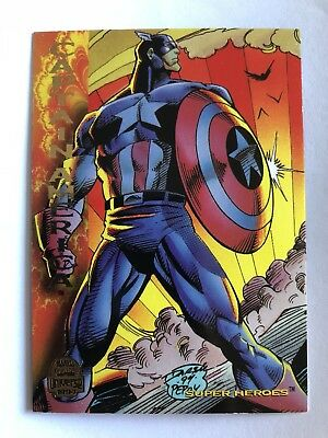 1994 Marvel Comics Universe Card #145 Captain America