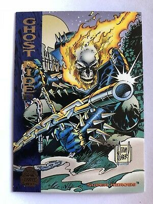1994 Marvel Comics Universe Card #137 Ghost Rider