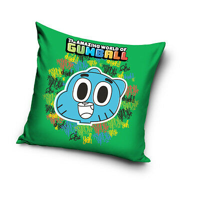 NEW THE AMAZING WORLD of GUMBALL Troublemaker 06 cushion cover 40x40cm