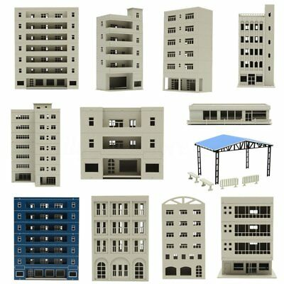 Outland N HO OO Scale Models Railway Modern Tall Business Building Office
