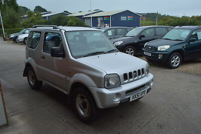 2001 51 Reg Suzuki Jimny 1.3 Jlx 3 Door Petrol Manual