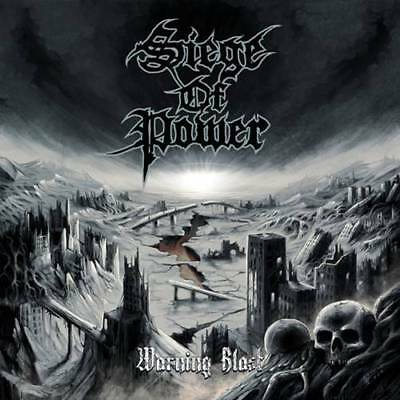 "Siege Of Power ""Warning Blast"" colour LP [International War Death/Thrash Metal]"