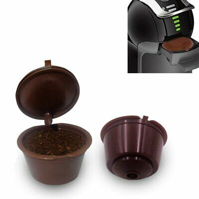 3pcs/set  Refillable Reusable Coffee Capsules Pods For Dolce Gusto Machine  new