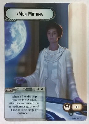 Armada Mon Mothma Alternate Art Promo Card FFG