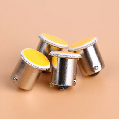 White Cob P21W 12SMD 1156 BA15s Car Parking Turning Light Led Backup Lamp 2/4Pcs