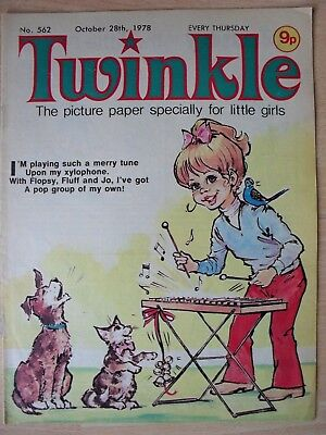 TWINKLE COMIC - 28th OCTOBER 1978 - NOVEL 40th BIRTHDAY GIFT!!