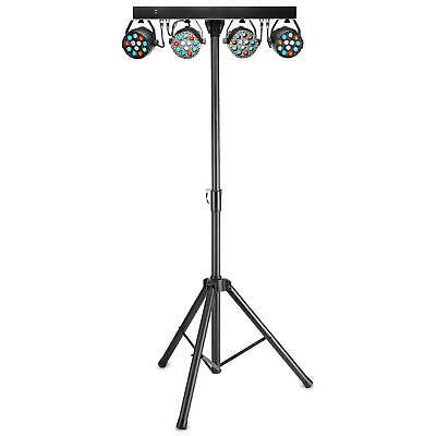 Stagg Performer Par Bar Lighting Stand With 4 RGBW Lights For DJ Disco Gig Party
