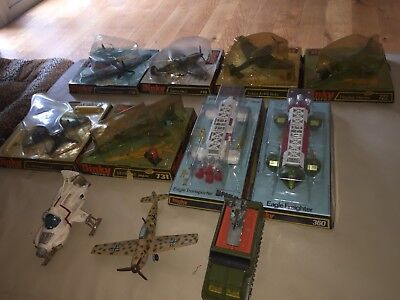 Selection Of Dinky Toys Aircraft. All In Good Used Condition As Seen In Photos.