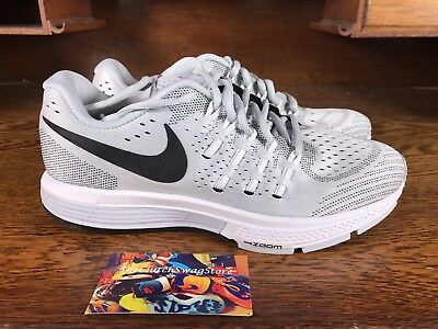 d6874e9c4ce29 Nike Air Zoom Vomero 11 Womens Running Training Shoes Grey White 818100 002  Sz