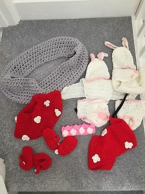 Baby photo props outfit girls fancy dress costume job lot