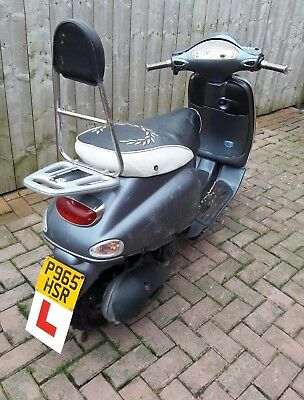 Piaggio Vespa eta 125 spares or repair.