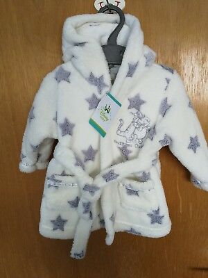 Disney Tigger and Pooh Dressing Gown 0-3 Months BNWT