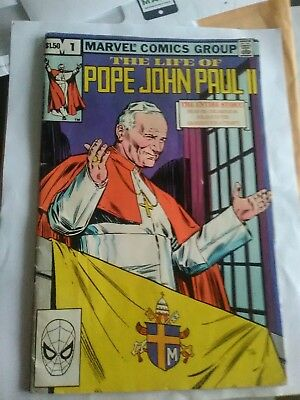 pope john paul ii comic book