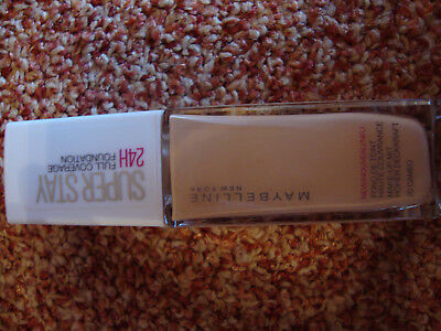 Maybelline New York Super Stay 24h Full Coverage Foundation 20 Cameo NEU