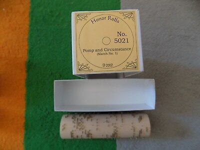 Organette Cob Gem Concert Chatauqua Roller Barrel Organ Land of Hope & Glory