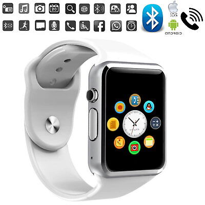 A1 Smart Watch Bluetooth Waterproof GSM Sim Phone Camera For Android / iOS 2018