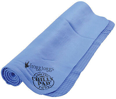 (Sky Blue) - Frogg Toggs The Original Chilly Pad Cooling Towel. ProActive Sports