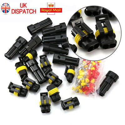 Car Auto Waterproof Electrical Wire Cable Automotive Connector 2/3Pin Way Plug