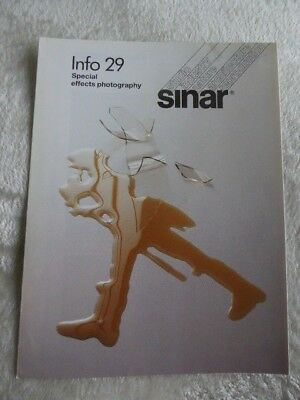 Sinar Information Sheet No 29. Special Effects Photography. 1987