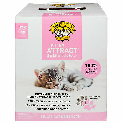 Dr. Elsey's Precious Cat Kitten Attract Scoopable Cat Litter, 20 lbs.